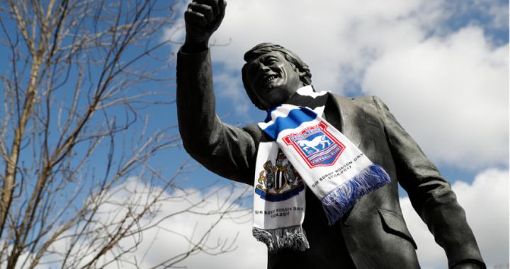 Pamiętam Sir Bobby'ego Robsona i błękit z Ipswich Town